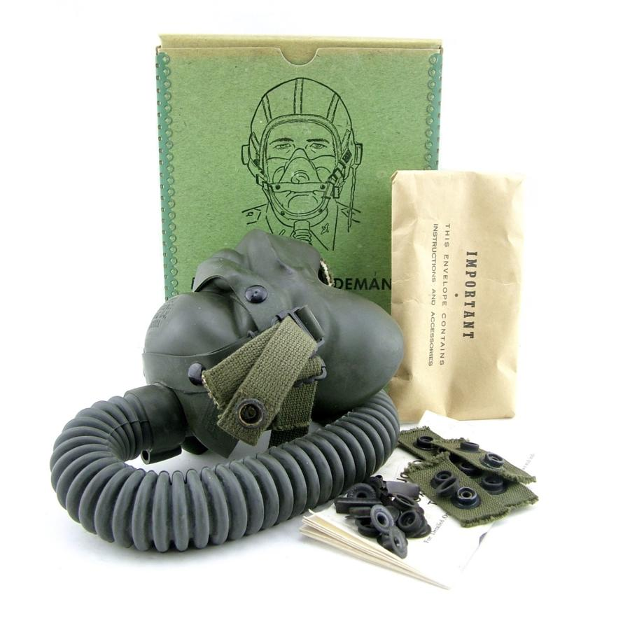 USAAF A-14 oxygen mask, boxed