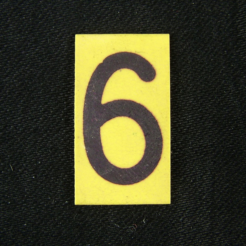 RAF operations room tile '6'