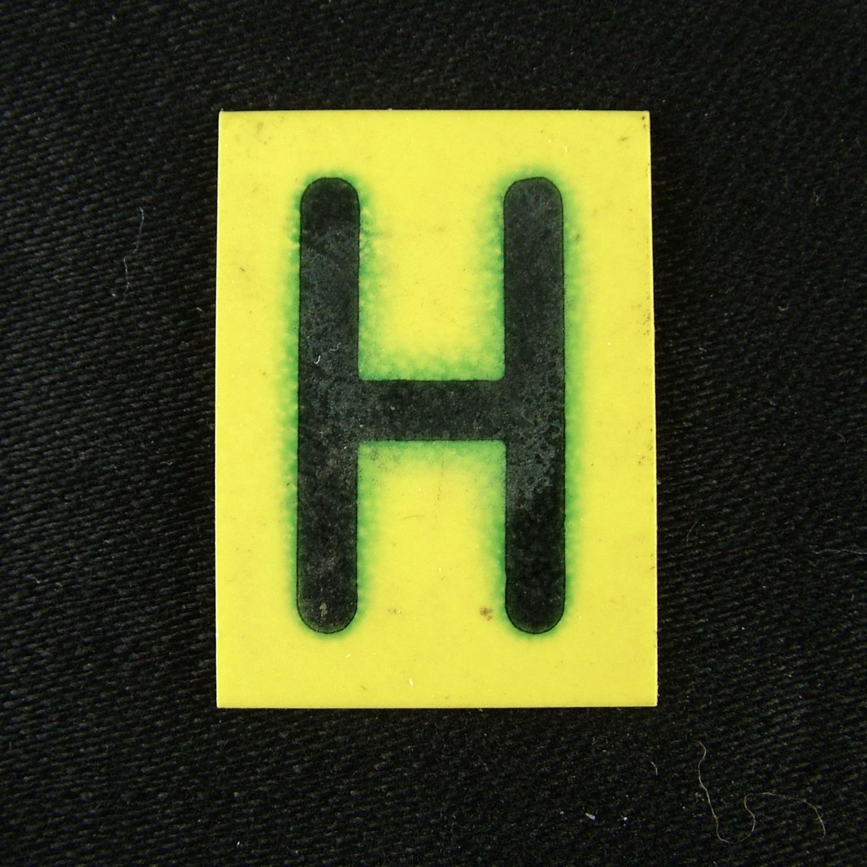 RAF operations room tile 'H'