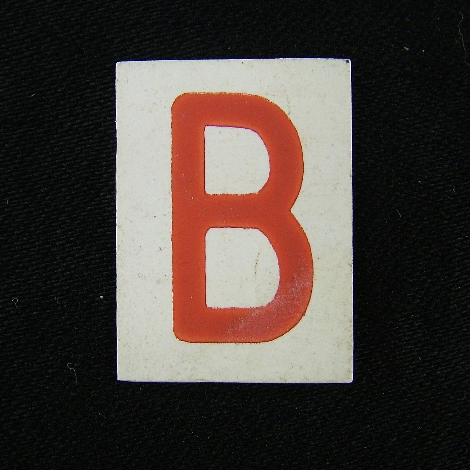 RAF operations room tile 'B'