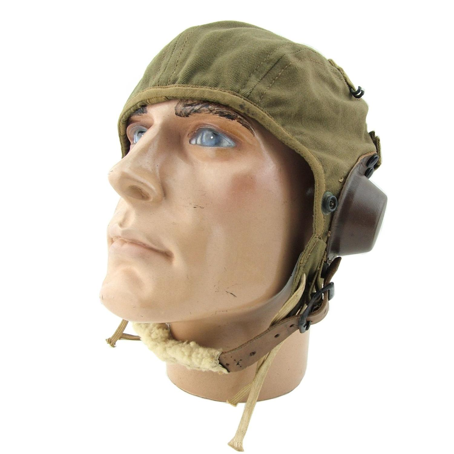 USAAF A-9 summer flying helmet