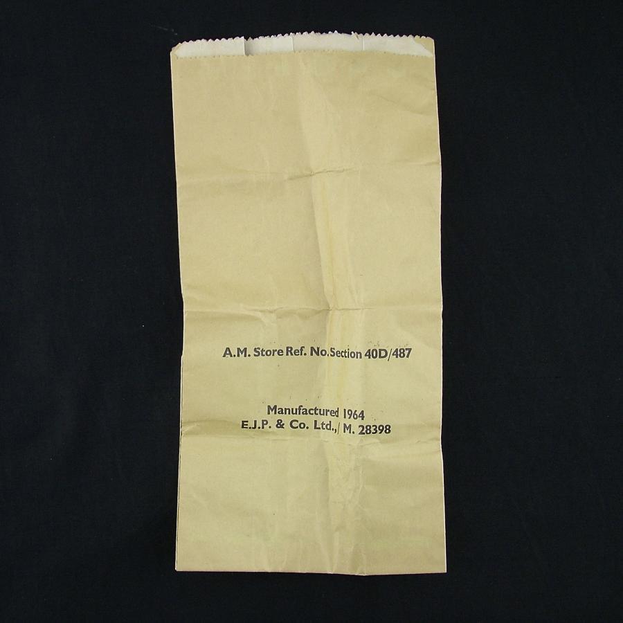 RAF aircrew 'Barf' bag
