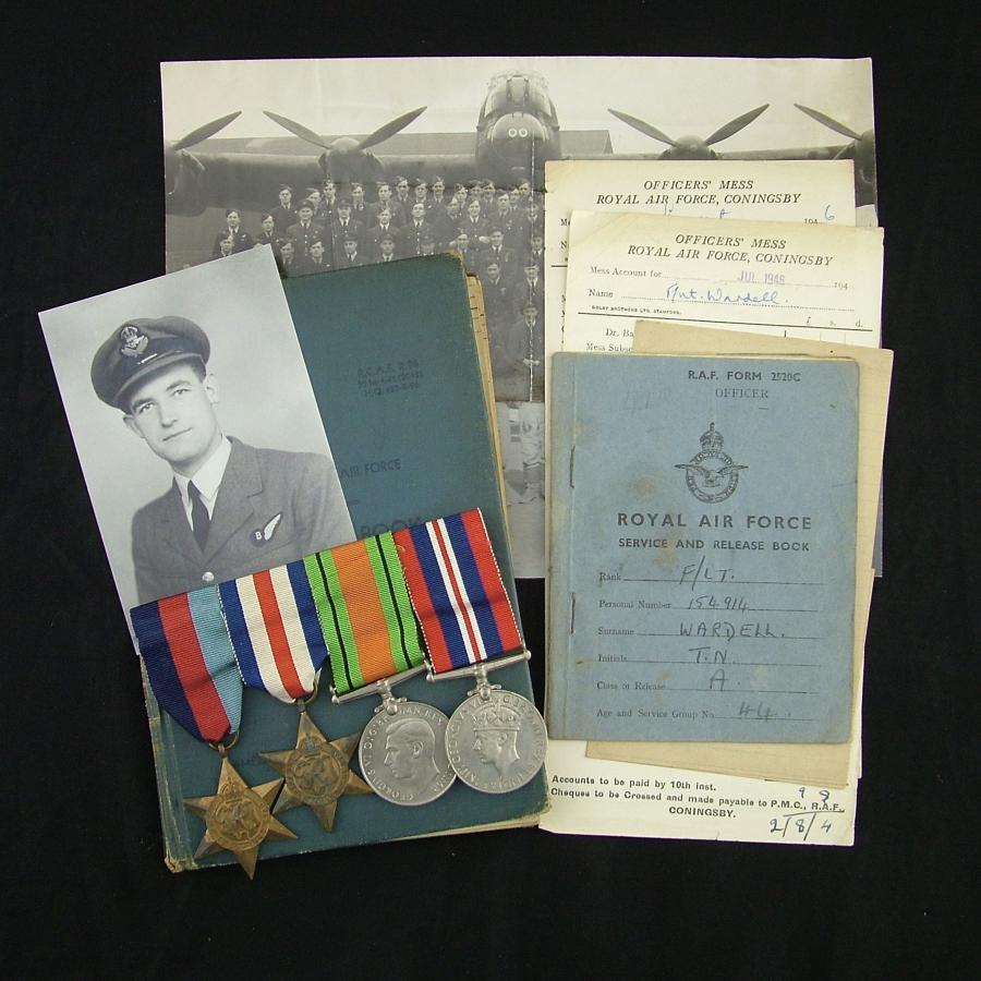 RCAF air bomber's log book - 106 squadron