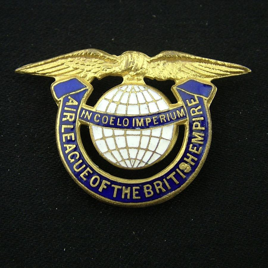 Air League of the British Empire badge