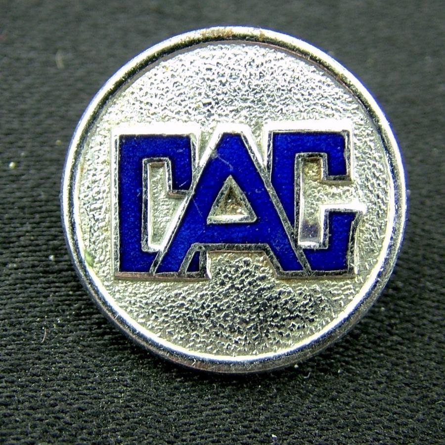 Civil Air Guard pin badge