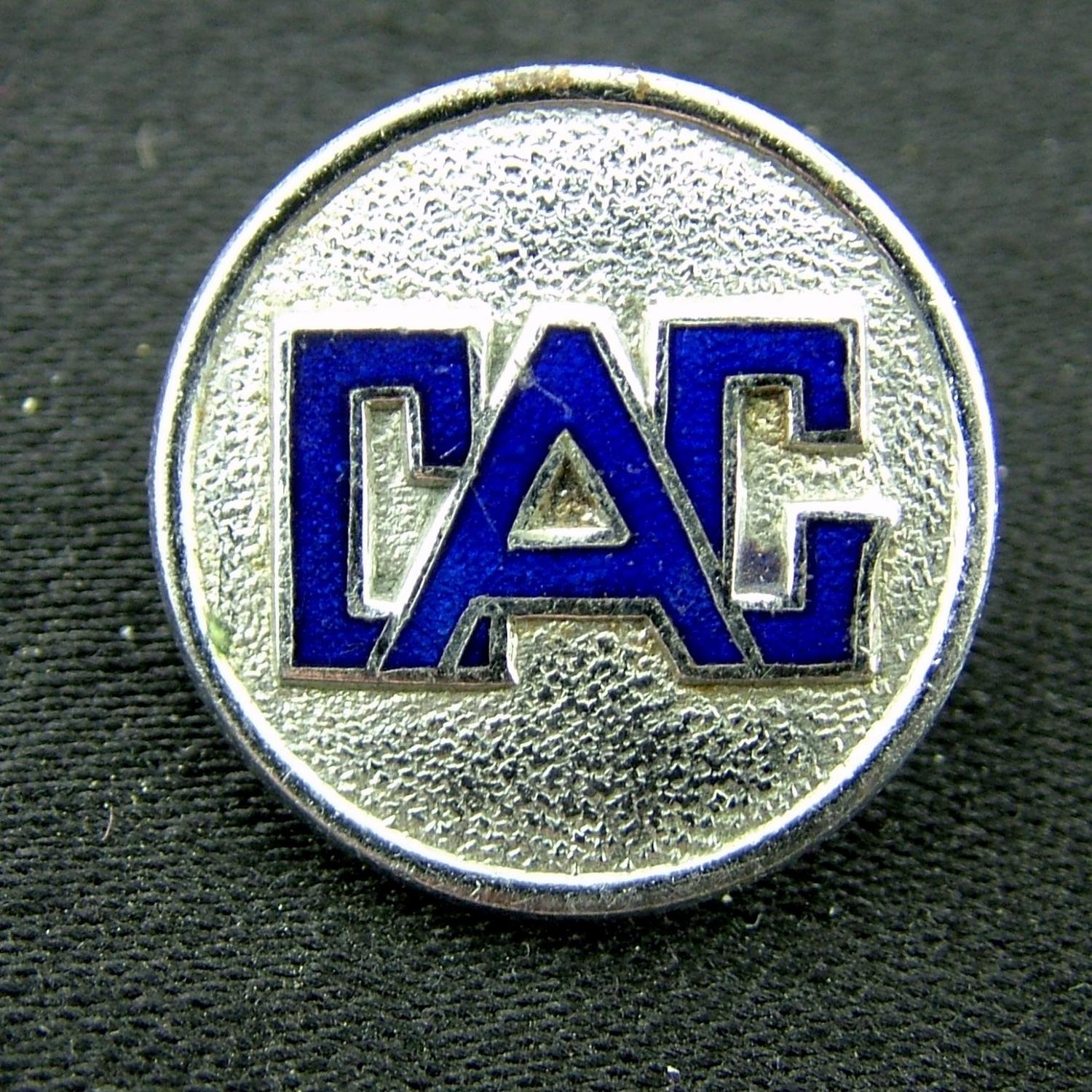 Civil Air Guard pin badge