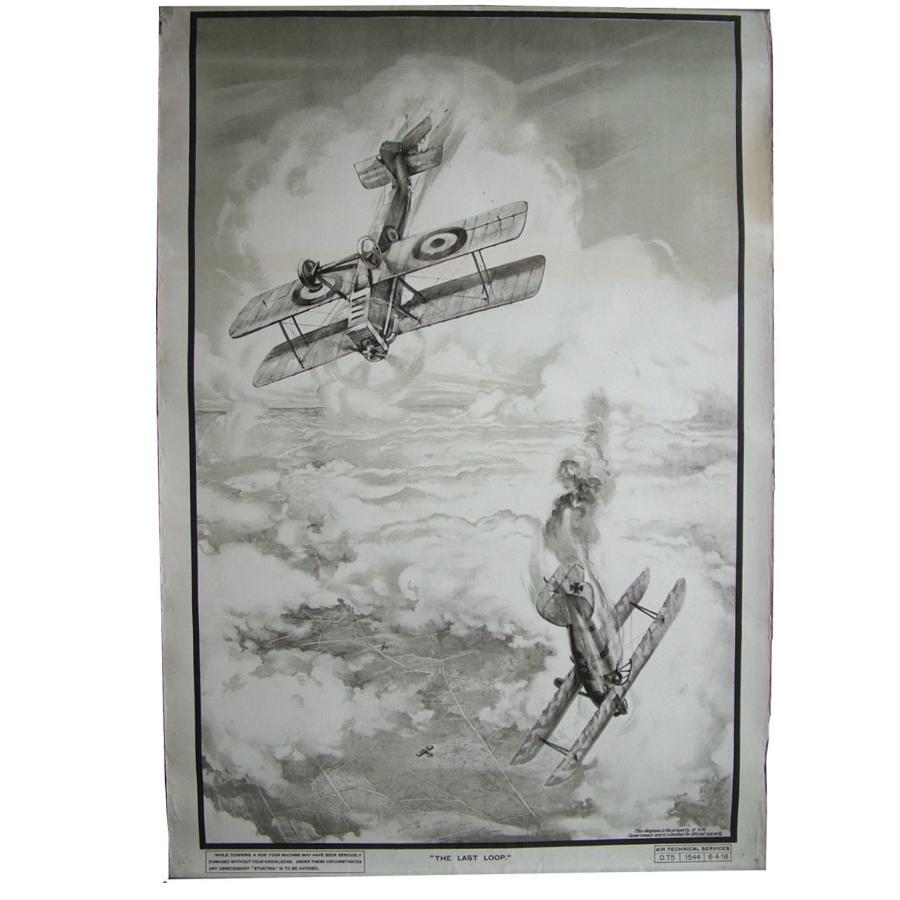 WW1 RAF training poster