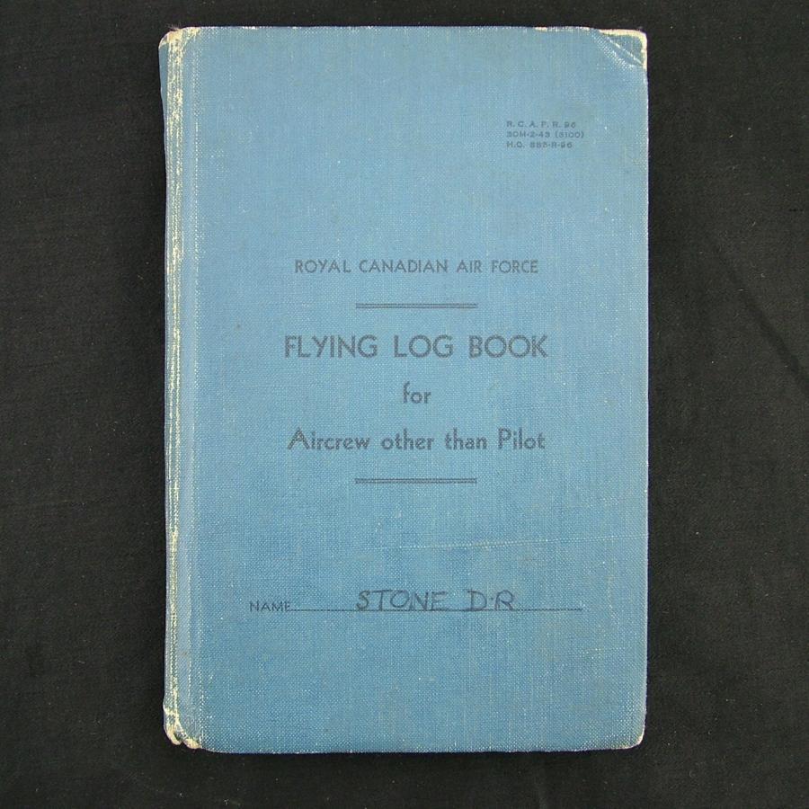 RAF navigator's log book