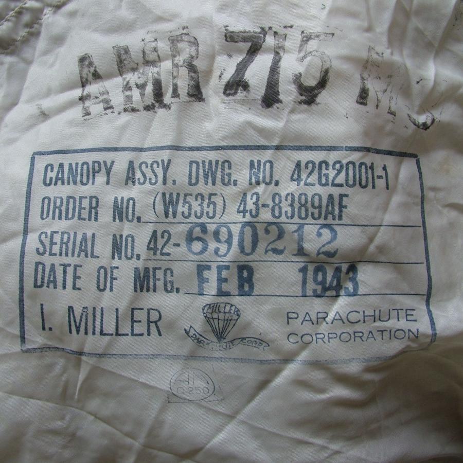 USAAF 24' parachute canopy