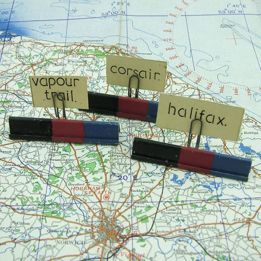 RAF / FAA operations room information holders