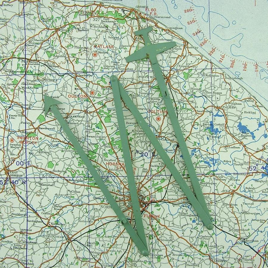 RAF / FAA operations room route plotters