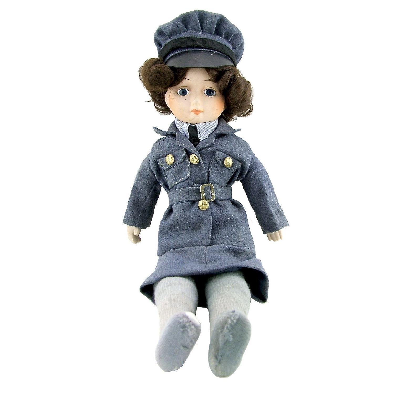 WW2 period WAAF doll