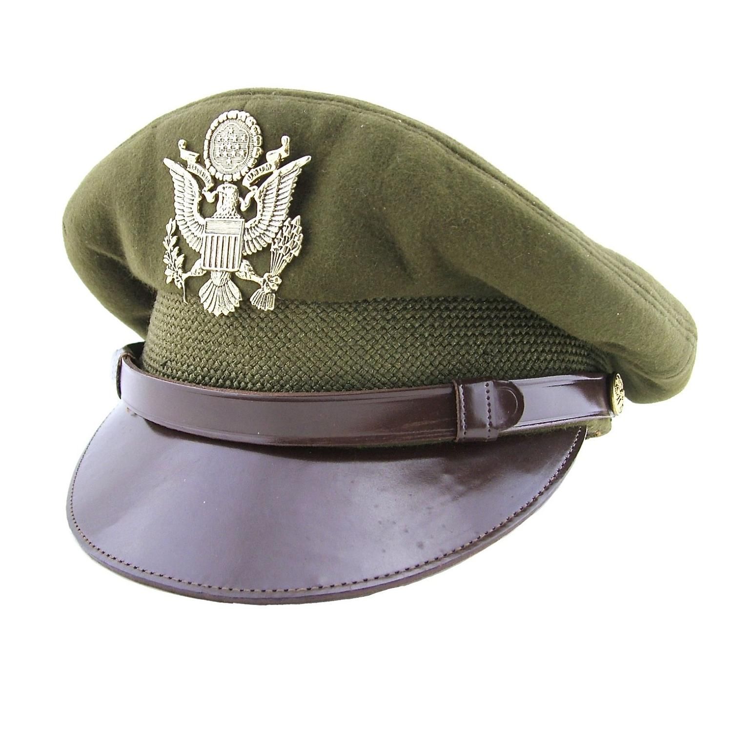 USAAF Officer rank visor cap
