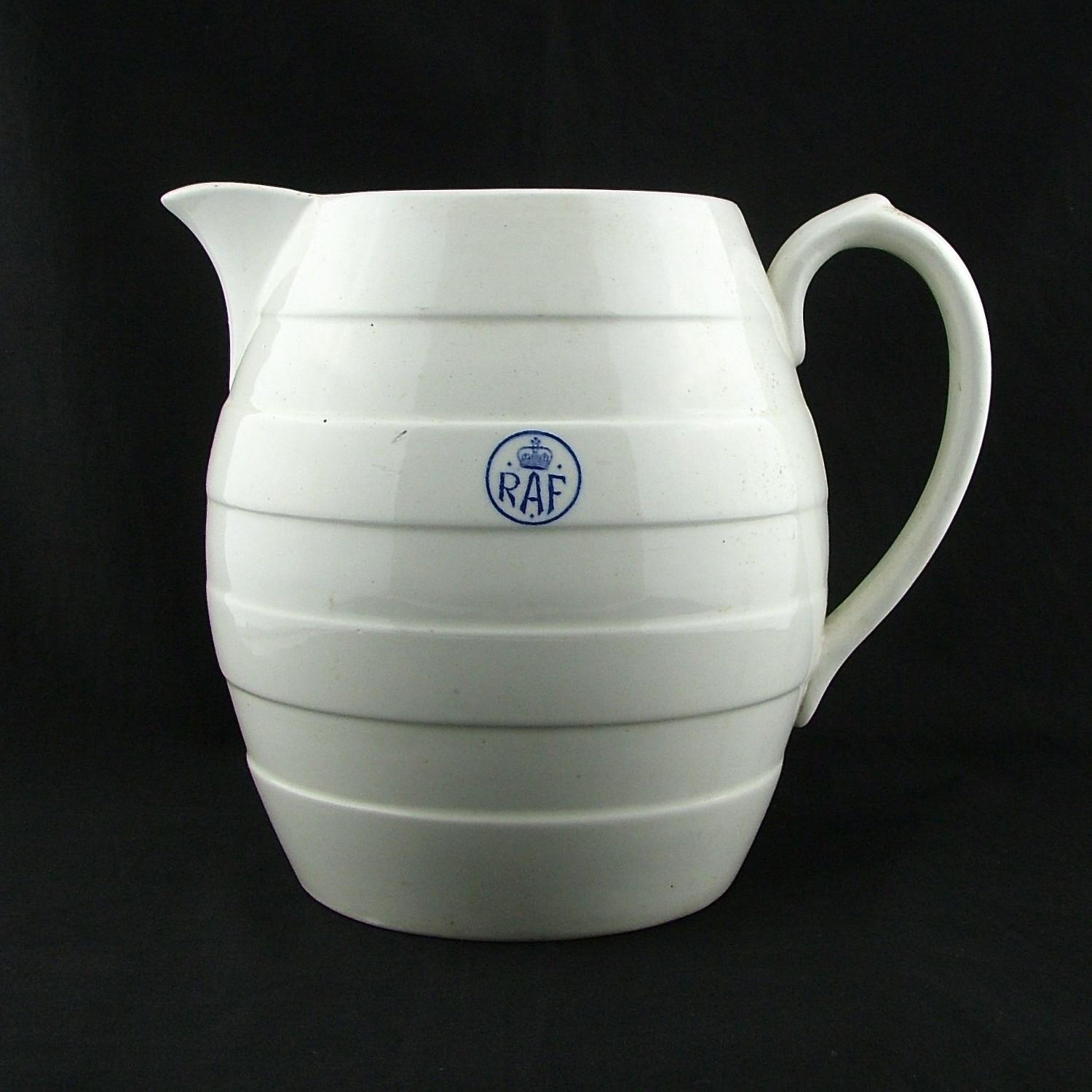 RAF mess water jug