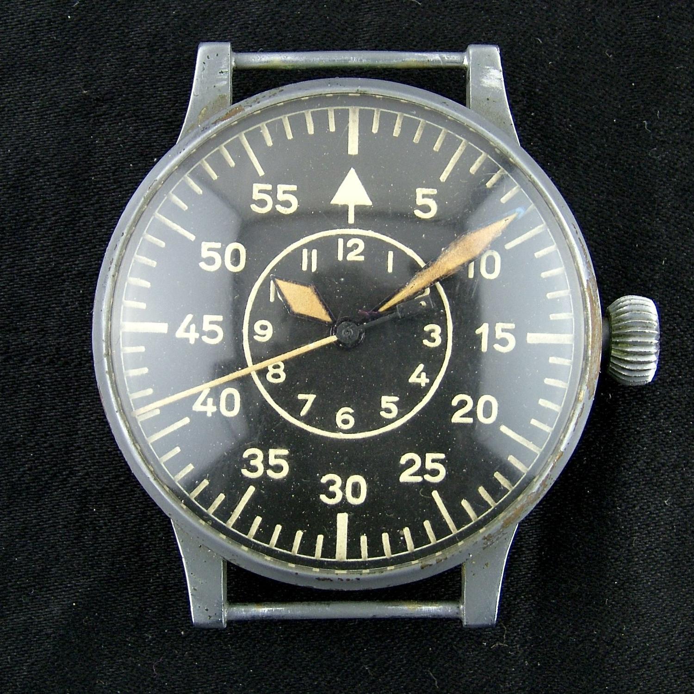 Luftwaffe Observers B-Uhr wristwatch