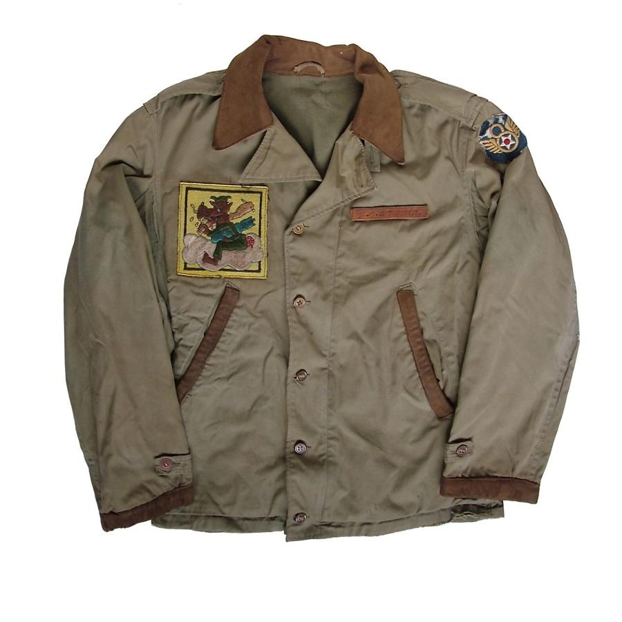 USAAF 474th bomb squadron M-41 field jacket