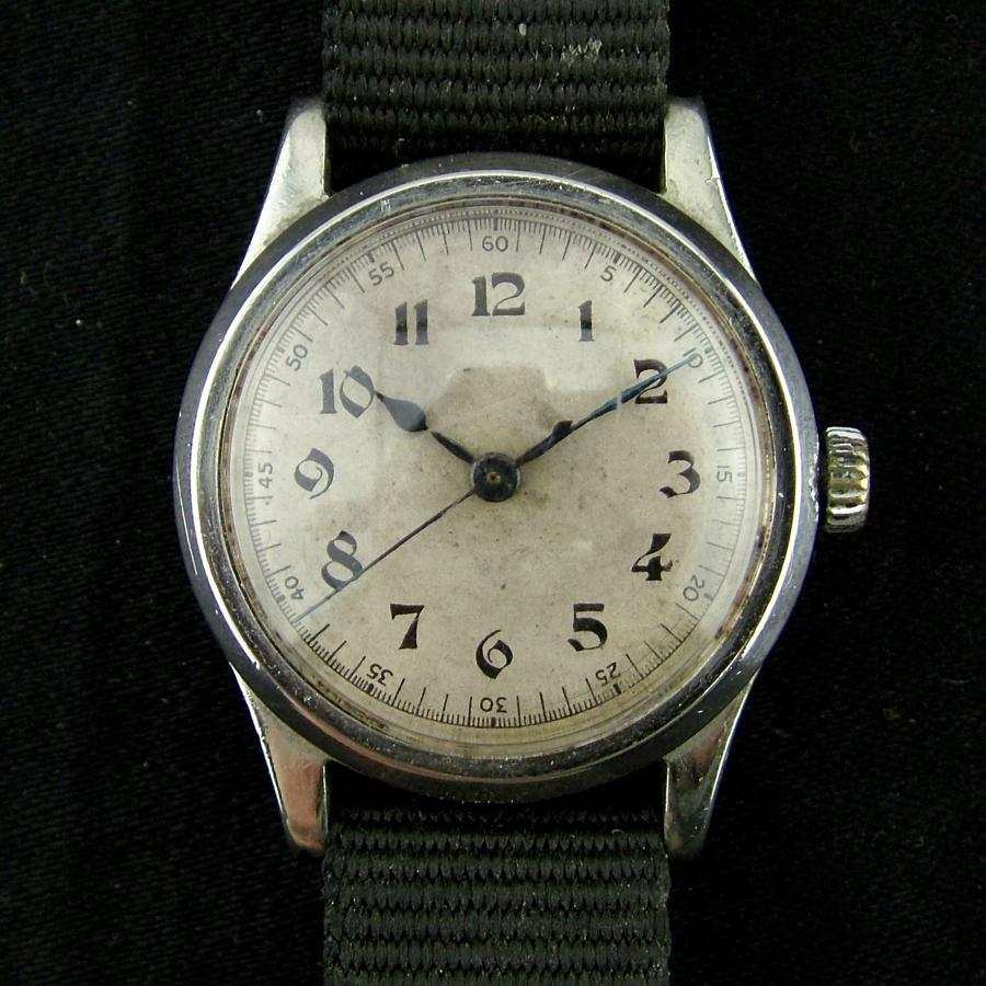 Air Ministry pilot's wristwatch