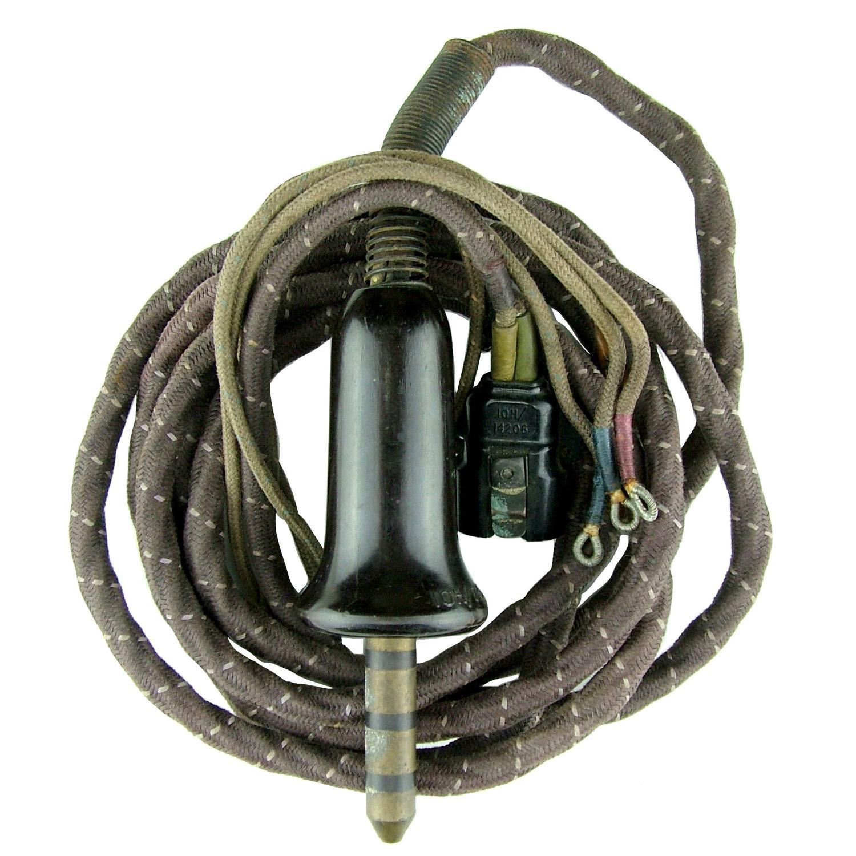 RAF flying helmet wiring loom #1
