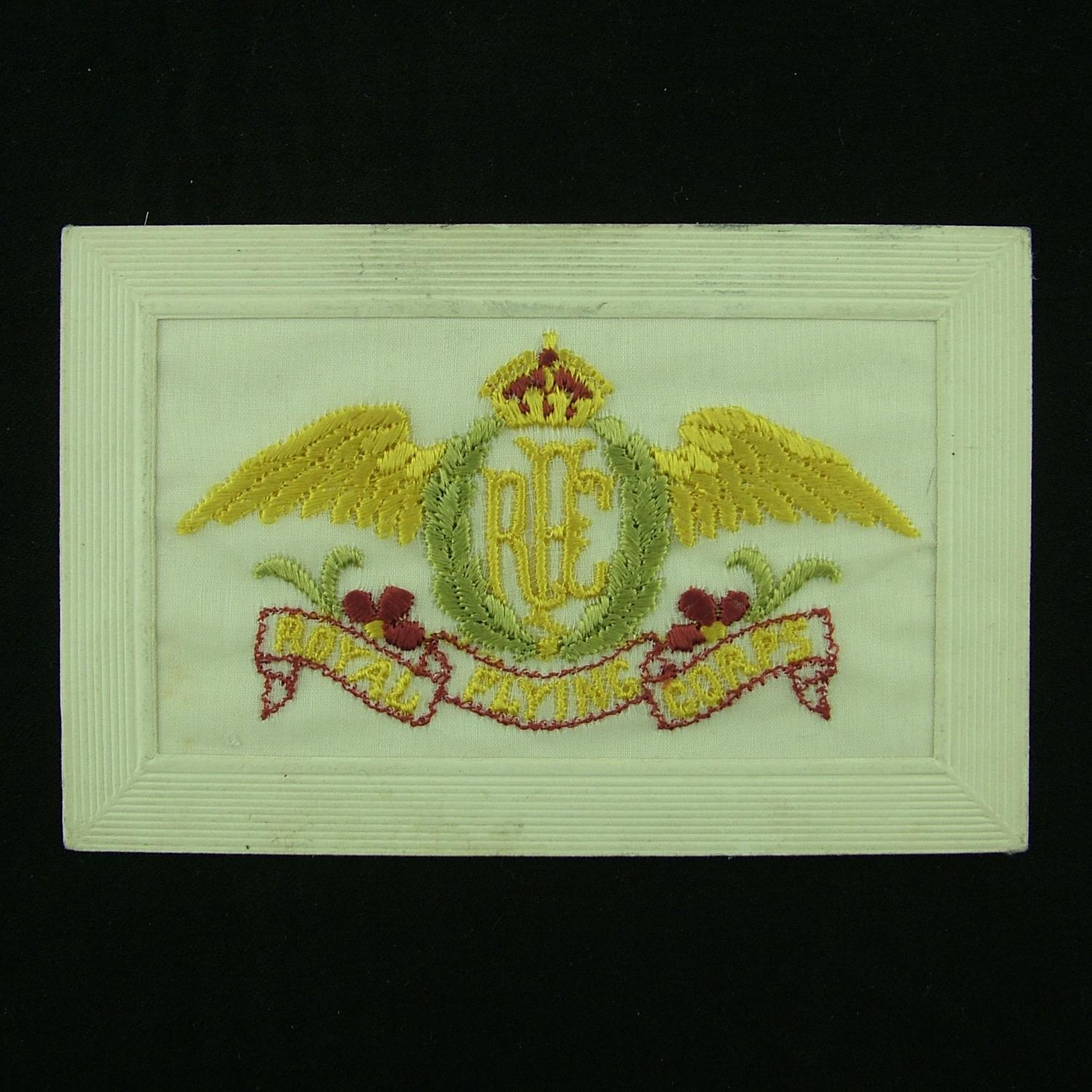RFC embroidered postcard #2