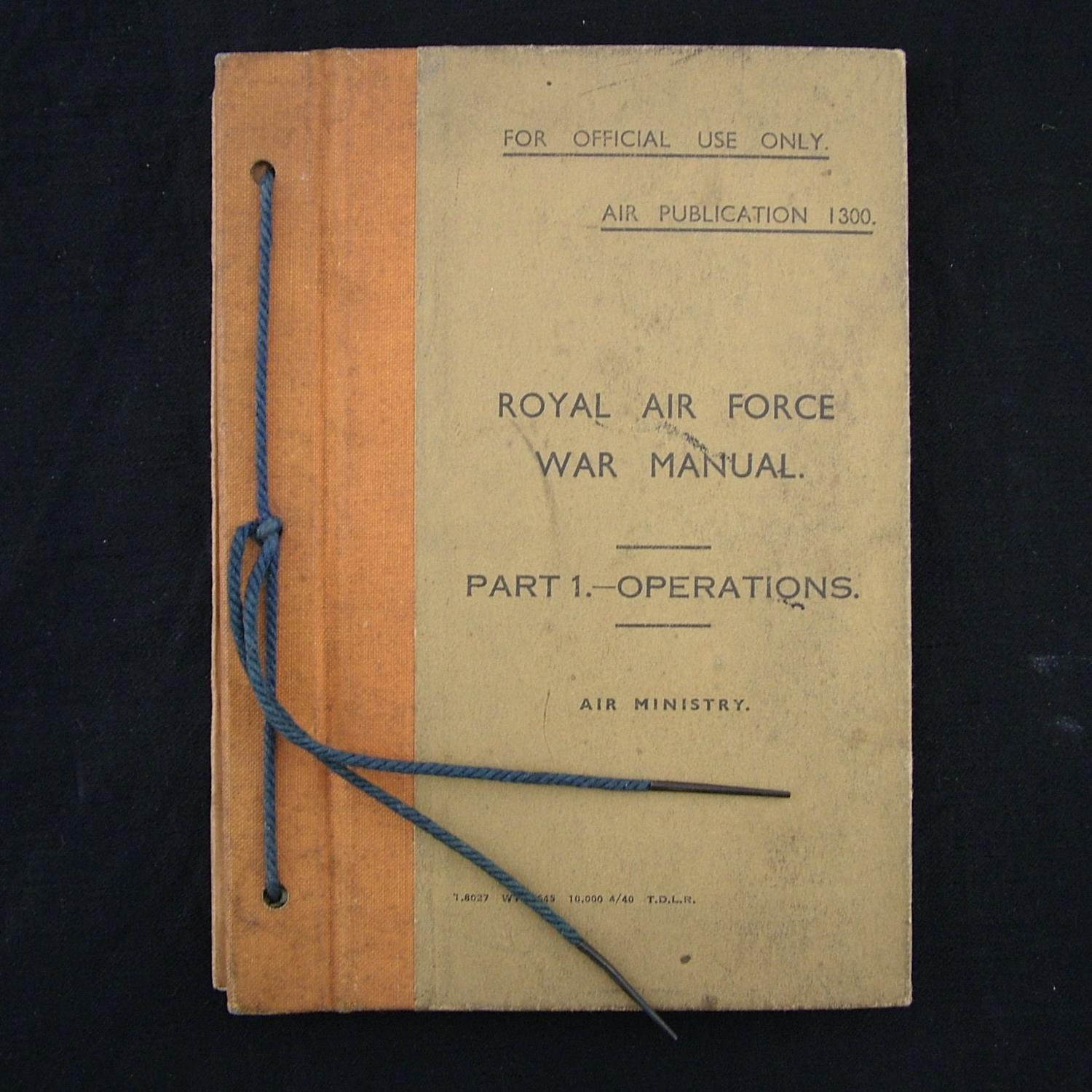 RAF War Manual, Part 1 - Operations