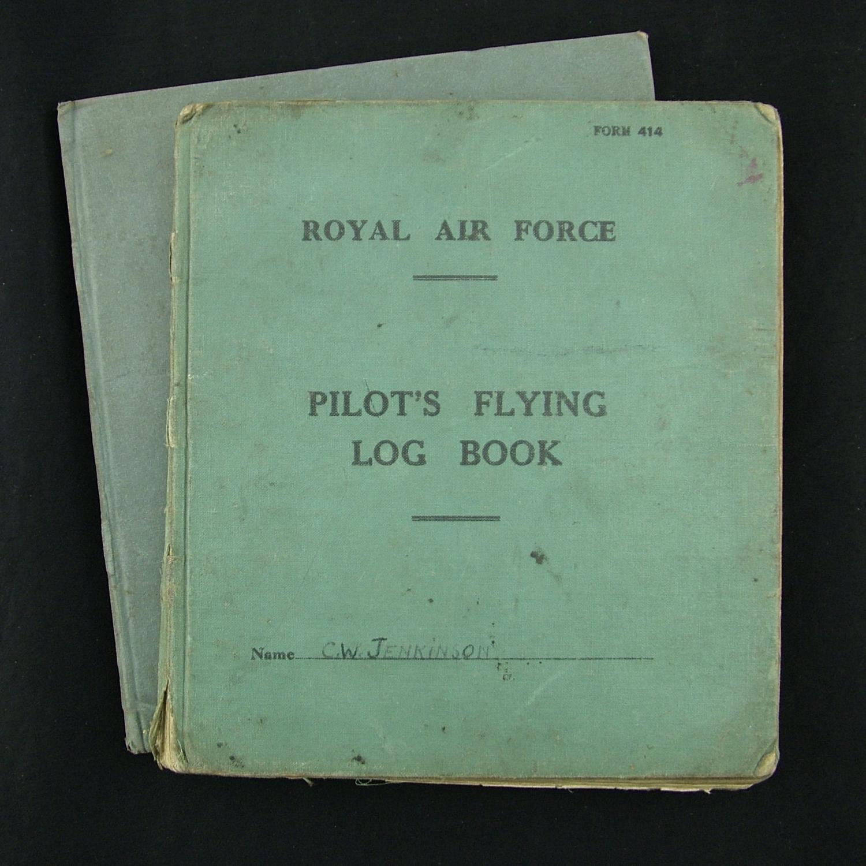 RAF pilot's log books (2)
