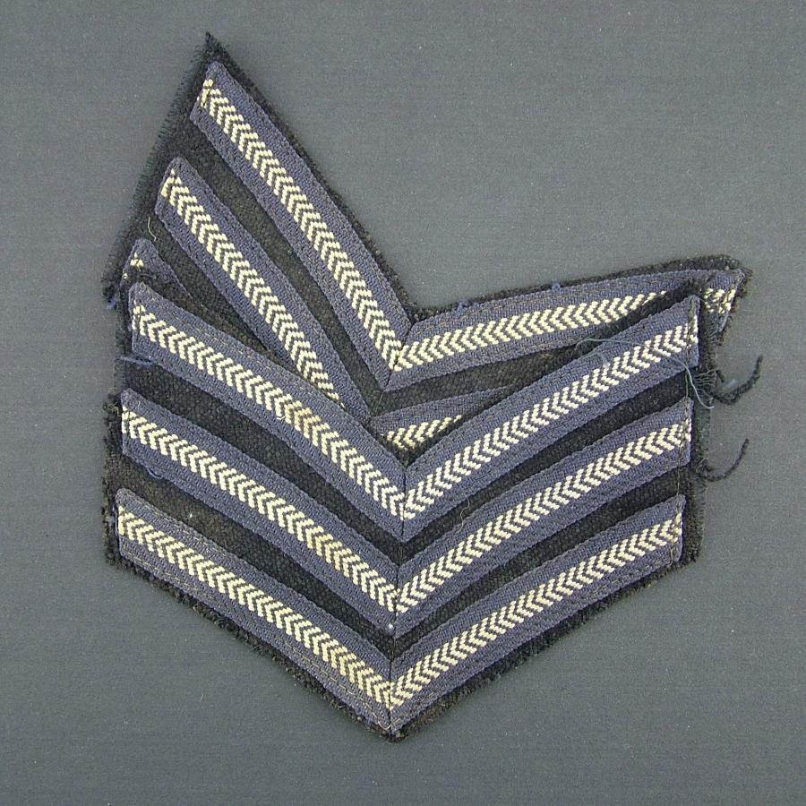 RAF sergeant stripes, pair