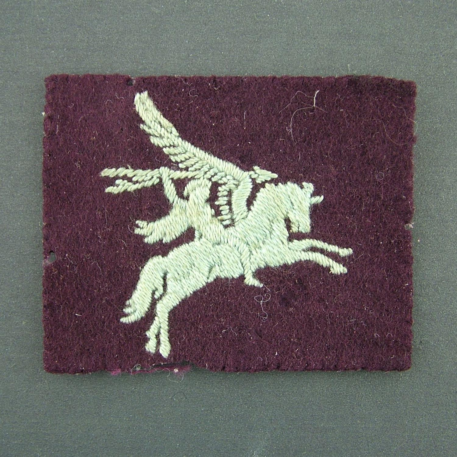 British Army Airborne 'Pegasus' patch