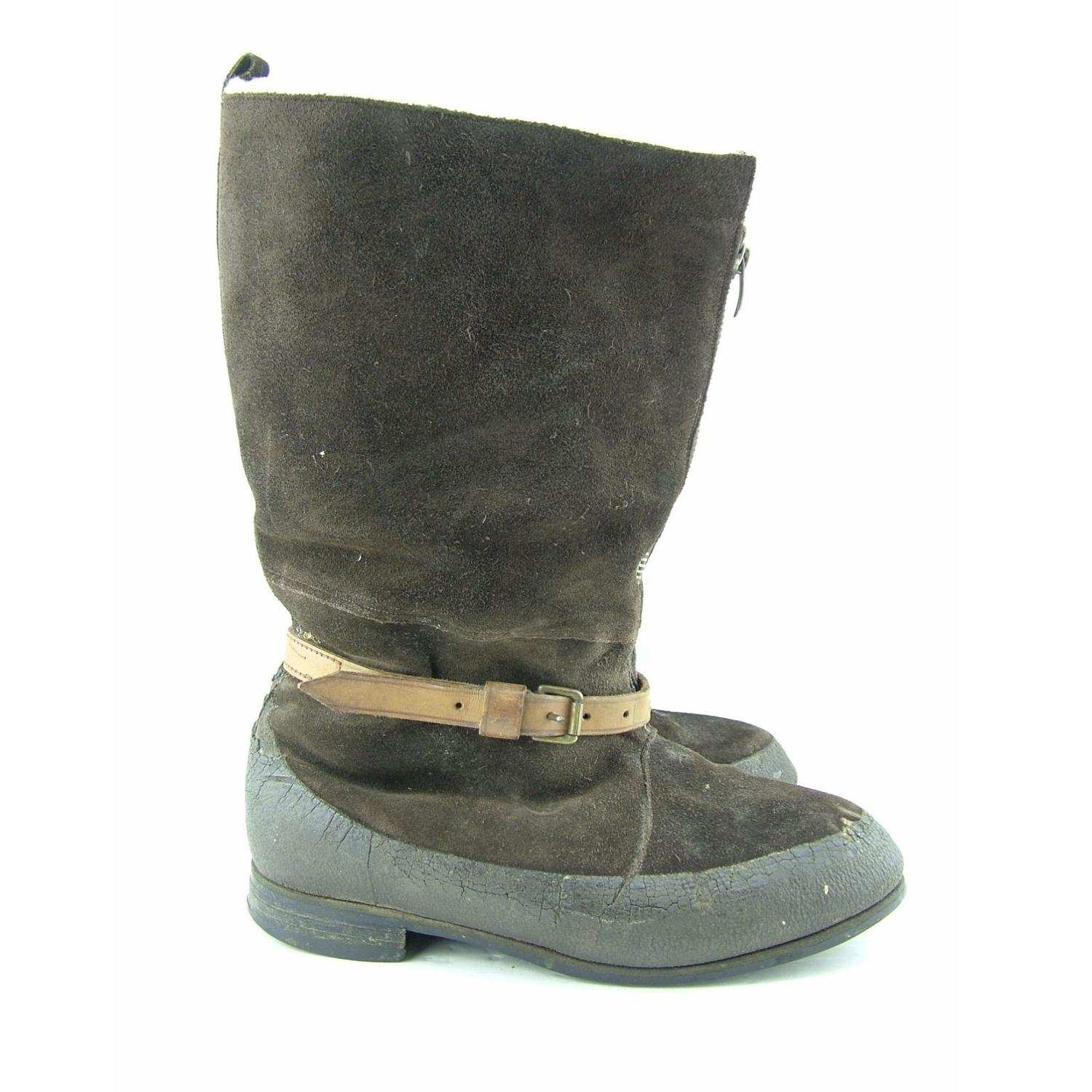 RAF 1941 pattern flying boots S7
