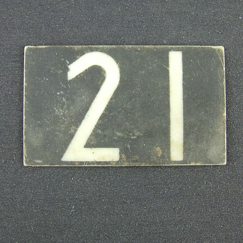 RAF operations room raid block tile ' 21'