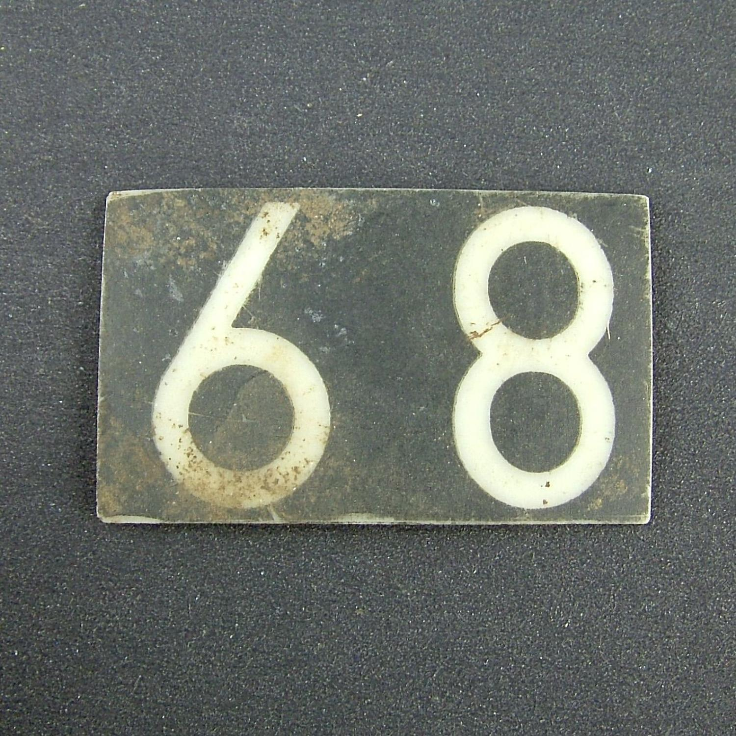 RAF operations room raid block tile '89'