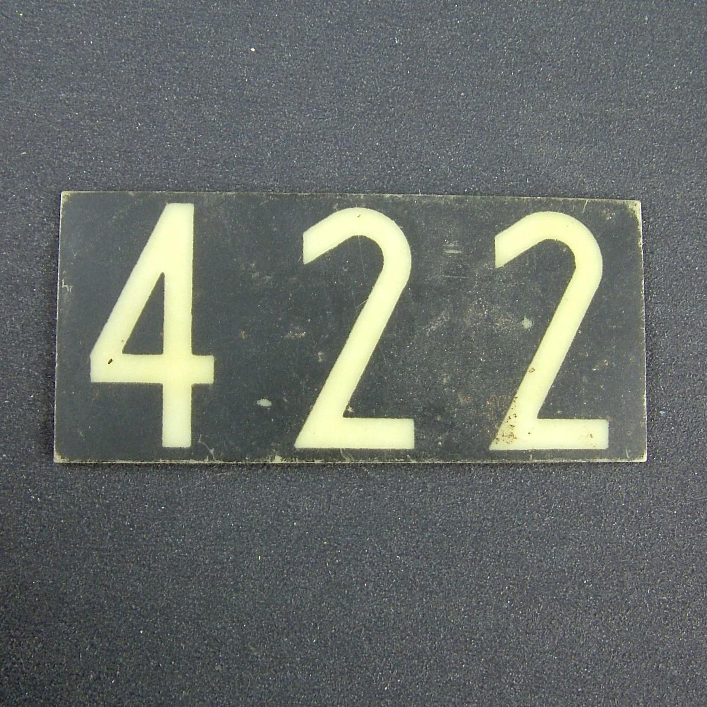 RAF operations room raid block tile '422'