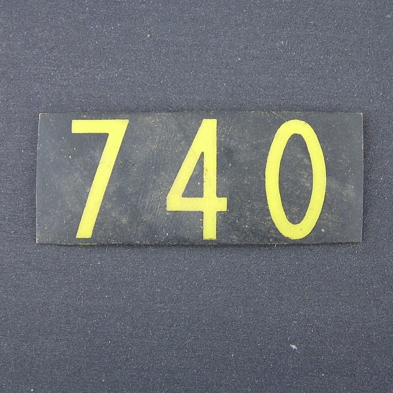 RAF operations room raid block tile '740'