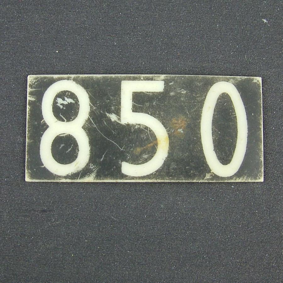 RAF operations room raid block tile '850'