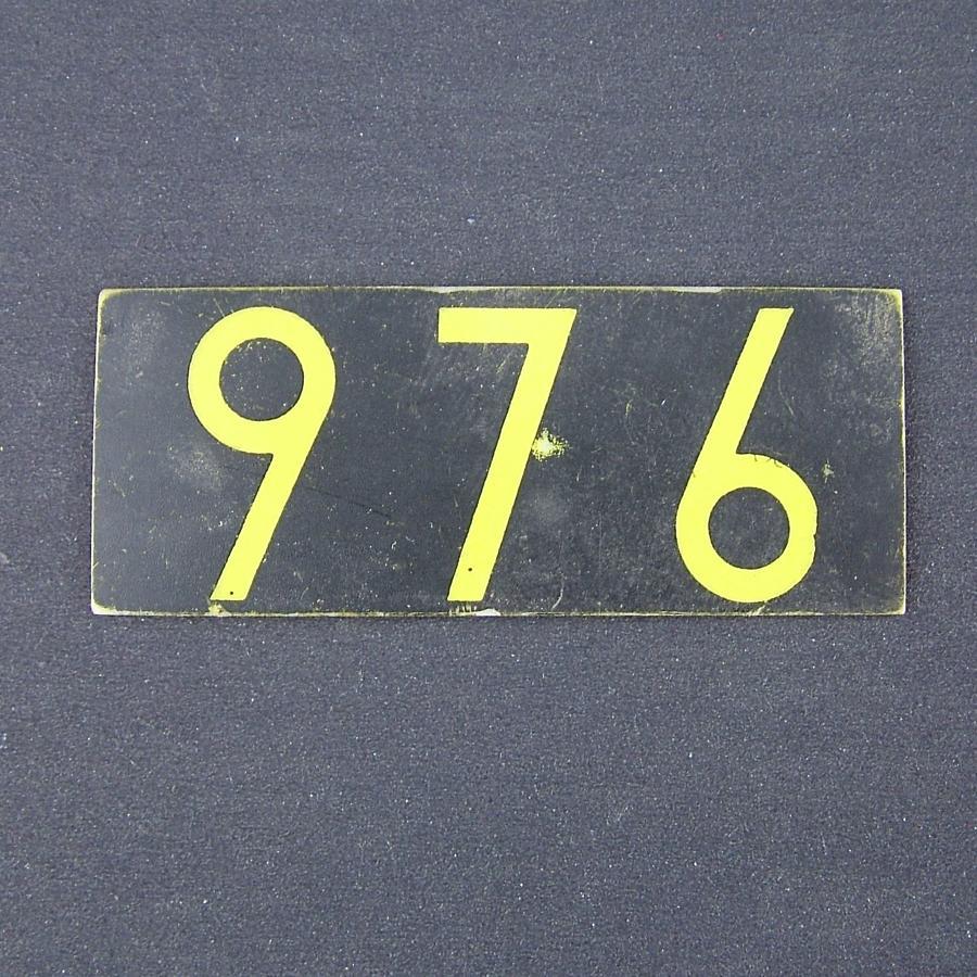 RAF operations room raid block tile '976'