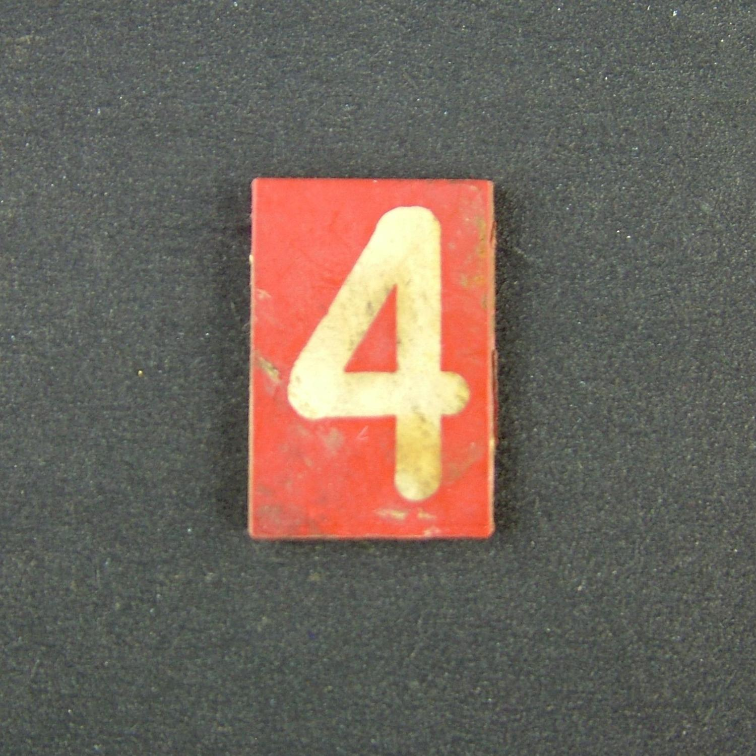 RAF operations room raid block tile '4'