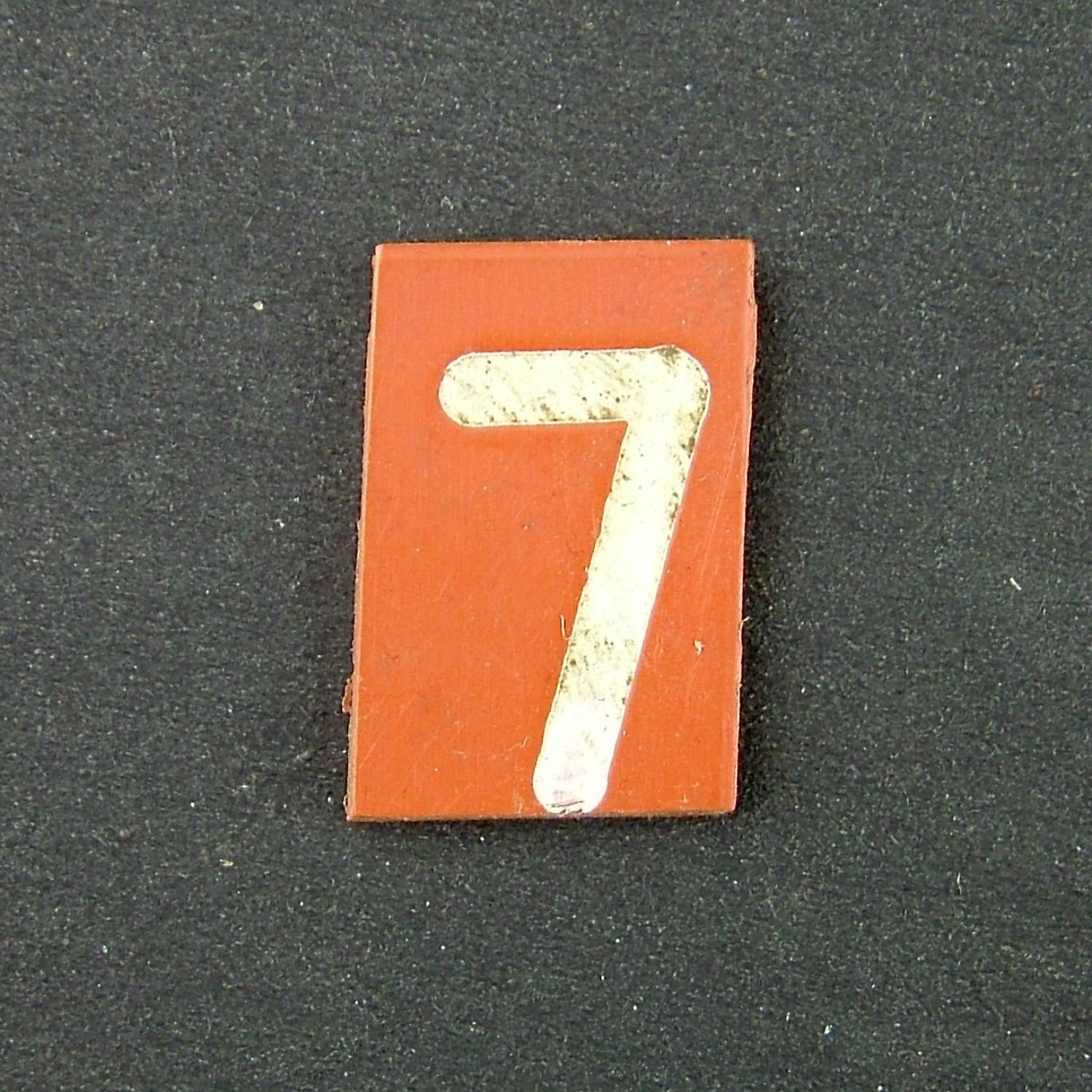 RAF operations room raid block tile '7'