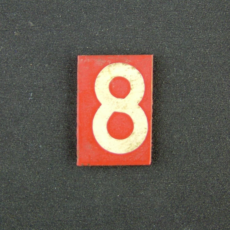 RAF operations room raid block tile '8'