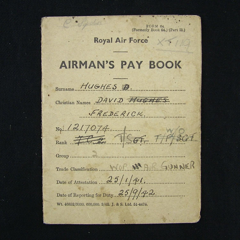 RAF airman's pay book