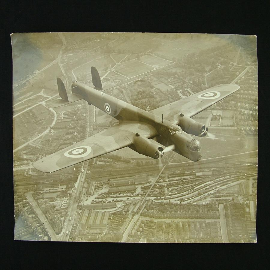 Photograph - Whitley bomber