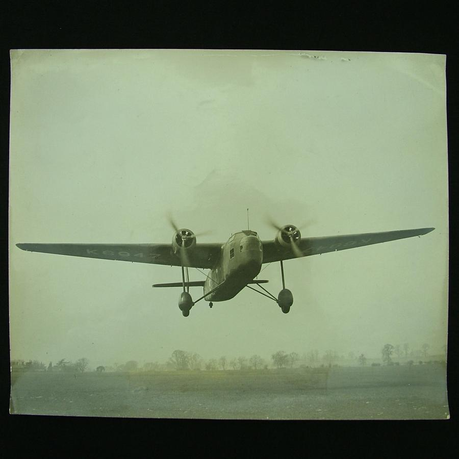 Photograph - RAF Handley Page 'Harrow'