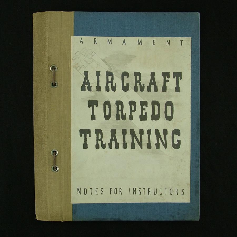 RAF / FAA  - Armament aircraft torpedo training