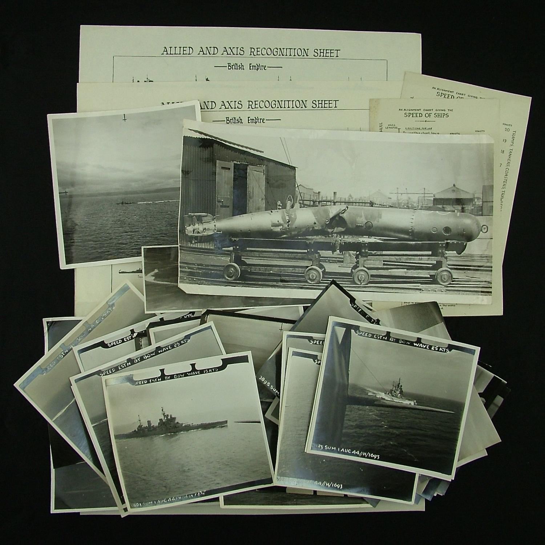 RAF secret Torpedo trial photographs