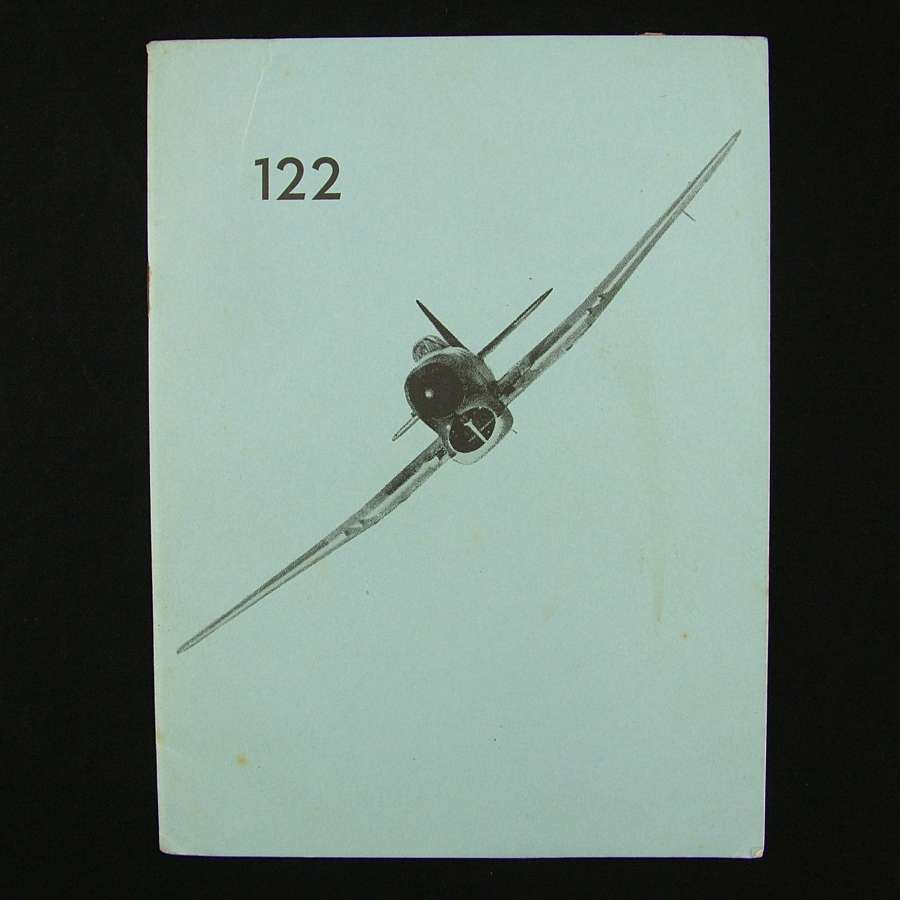 RAF 122 Wing history - original copy