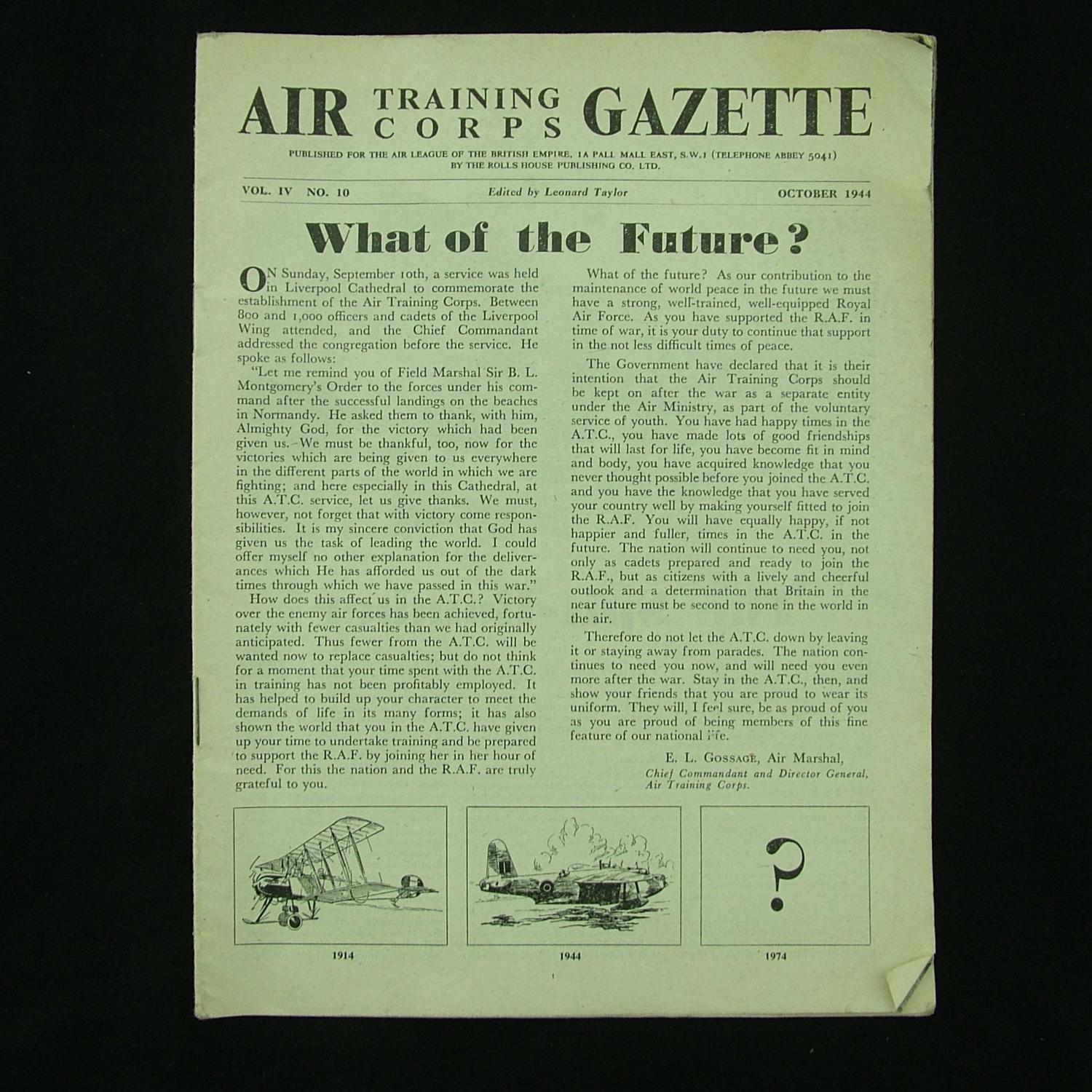 Air Training Corps Gazette