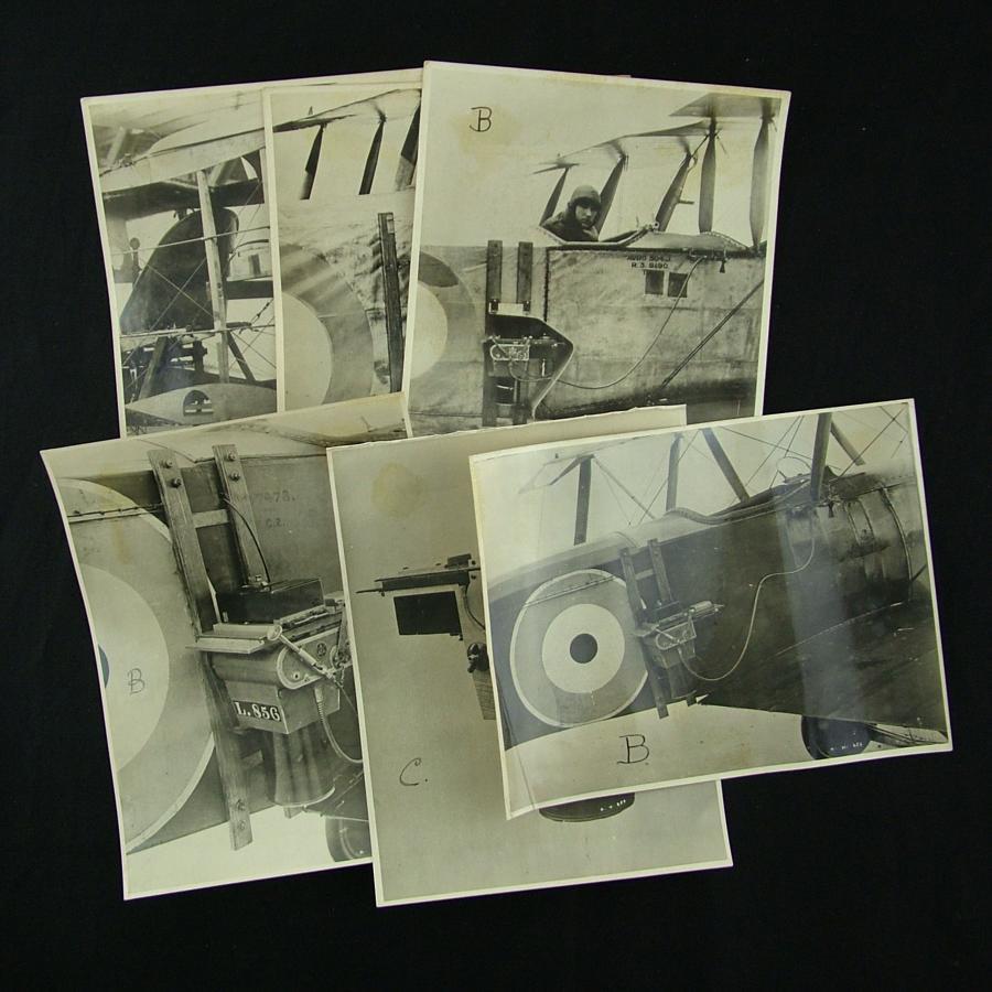 RFC photographs - aircraft cameras/mounts