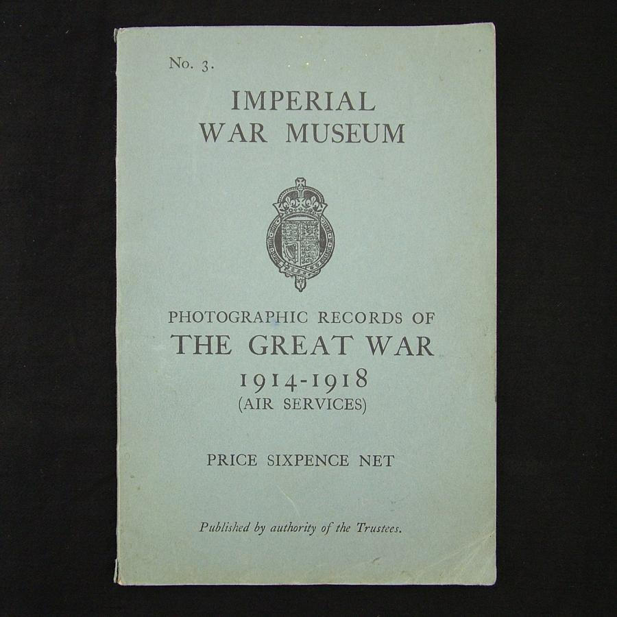 Photographic records of the Great War (Air Services)