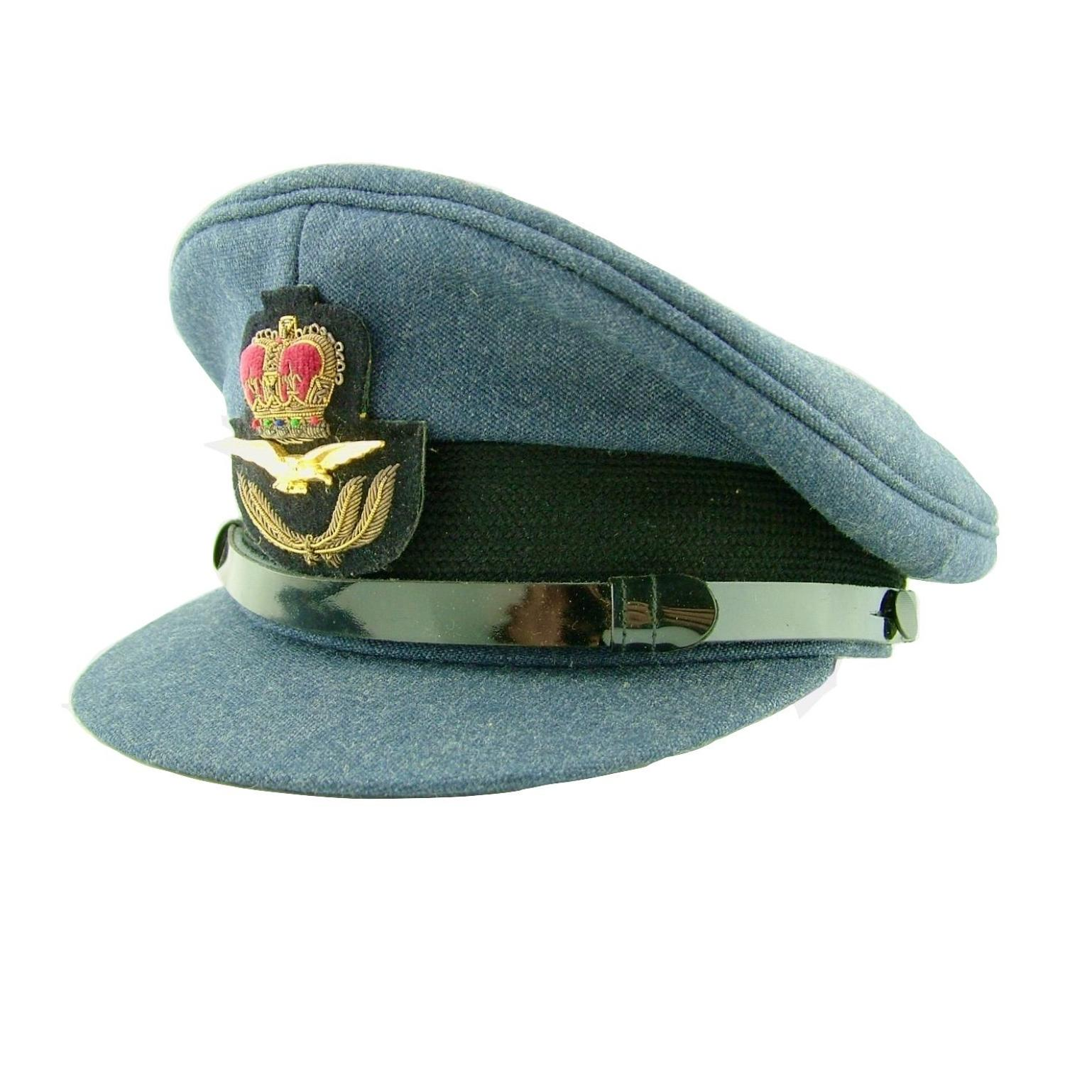 RAF service dress cap - postwar
