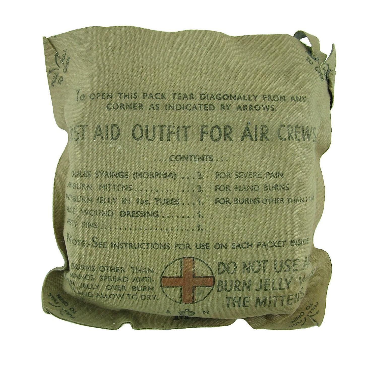 RAF First Aid Outfit For Air Crews