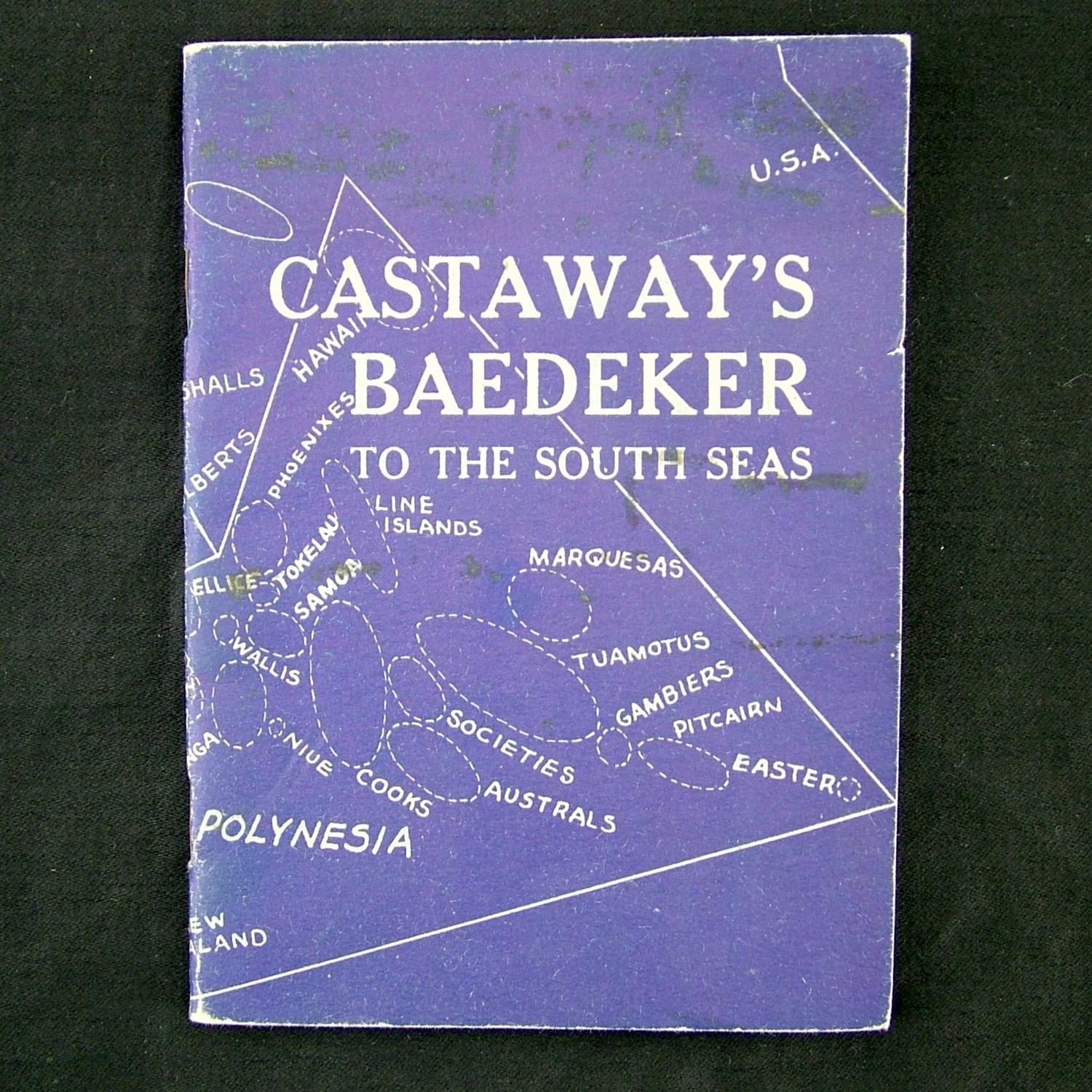 US Forces issued Castaway's Baedeker to the South Seas