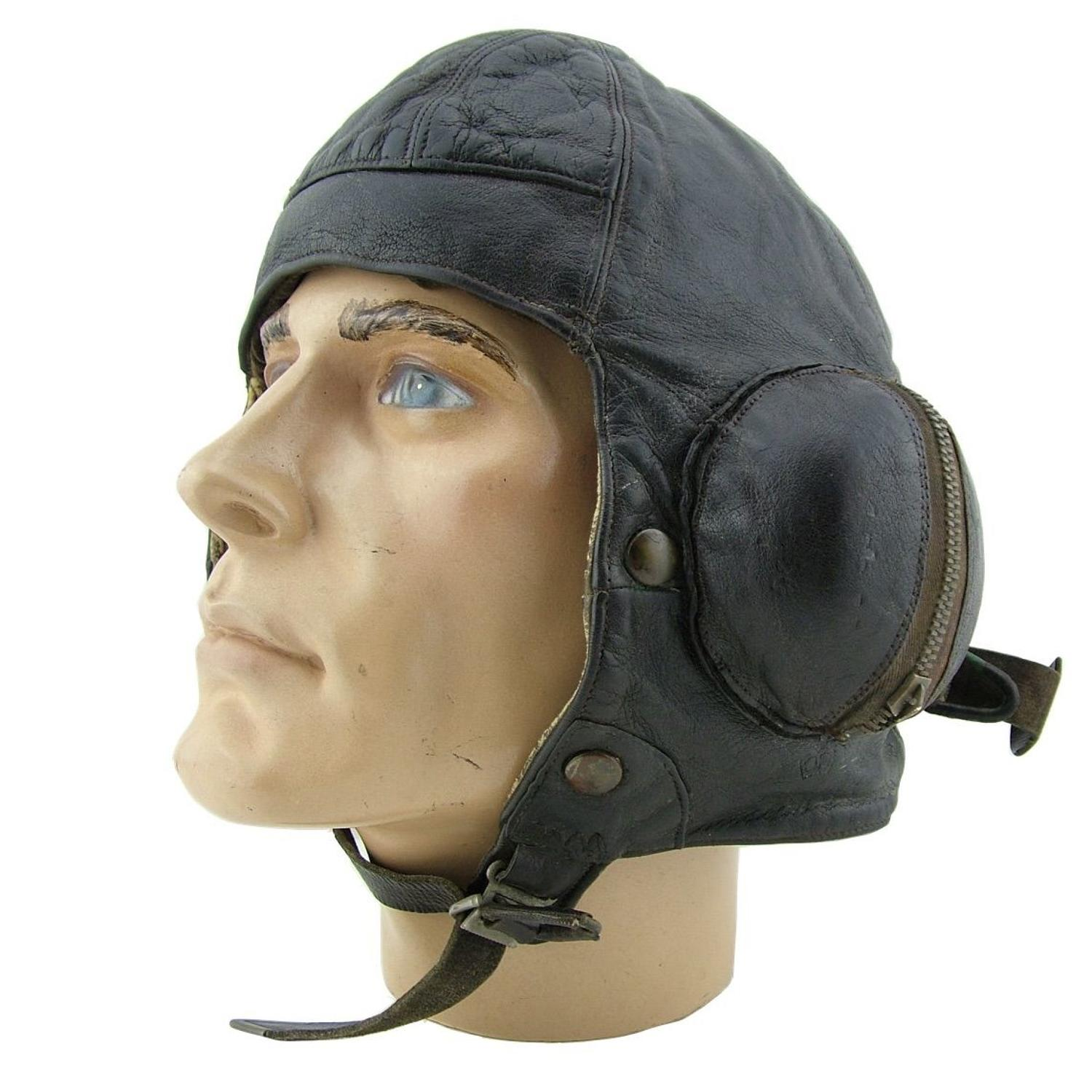 RAF B-type flying helmet